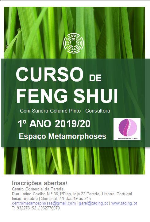 Curso Anual de Feng Shui 1º Ano                    PAREDE, CASCAIS