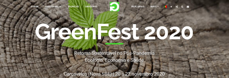 VIVER OU SOBREVIVER NA PANDEMIA? Greenfest-Palestra online próx sáb.21 às 15h